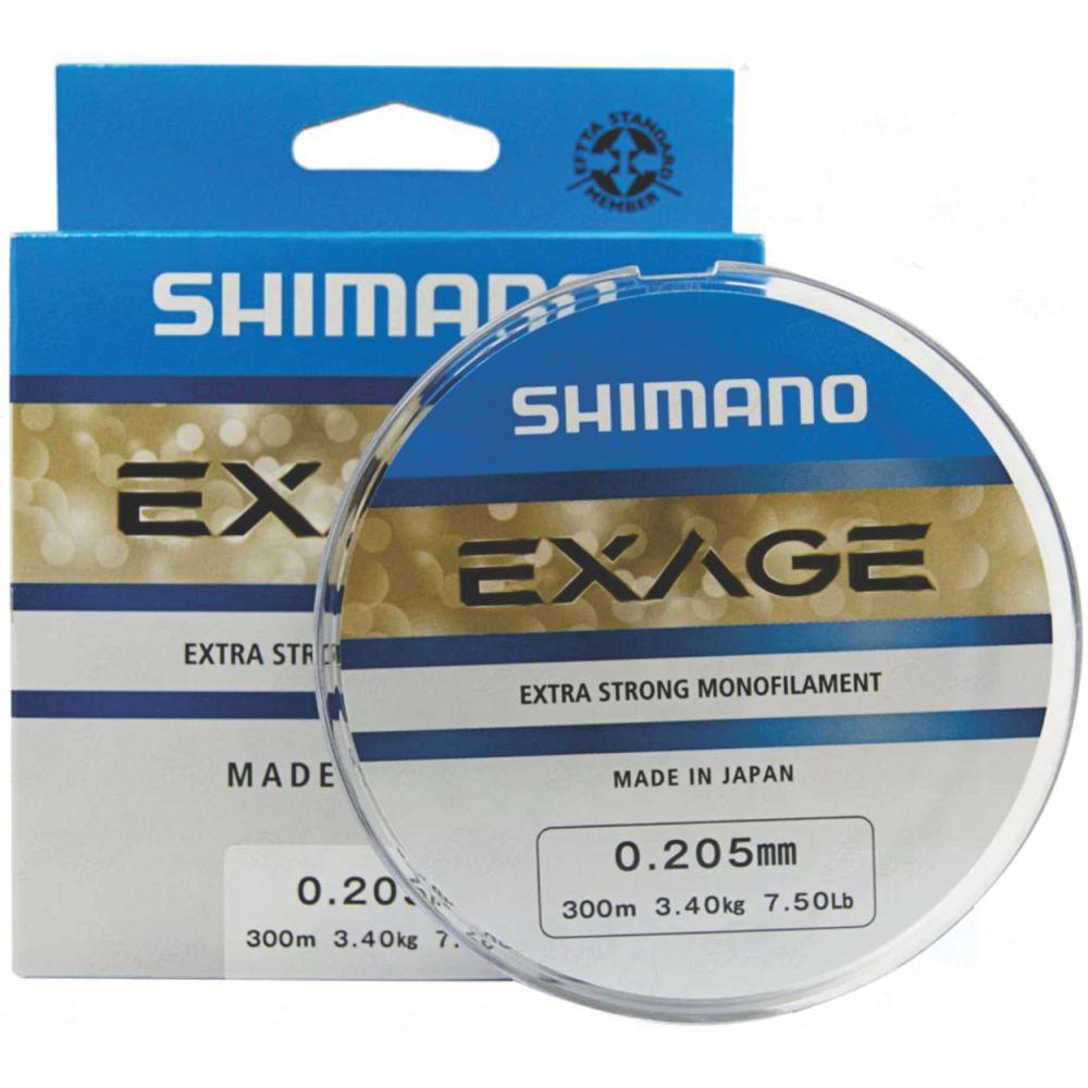 Linha Shimano Exage 0,205mm - 300m