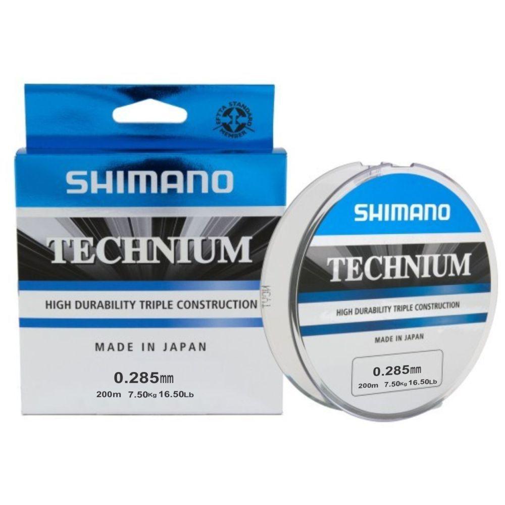 Linha Shimano Technium 0,285mm - 200m