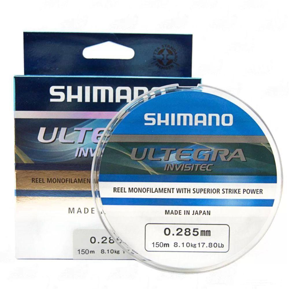 Linha Shimano Ultegra Invisitec 0,285mm - 150m
