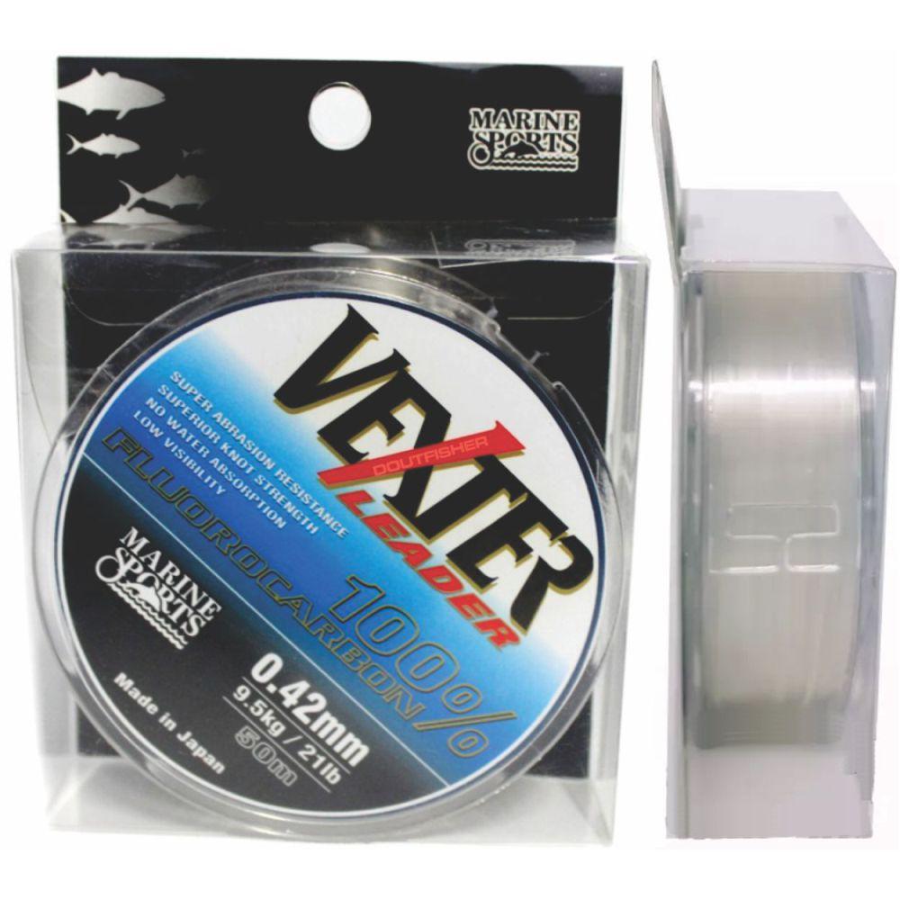 Linha Vexter Leader Fluorocarbon 0,42mm 50m
