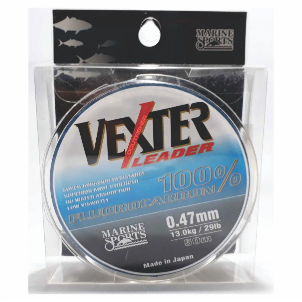 Linha Vexter Leader Fluorocarbon 0,47mm 50m
