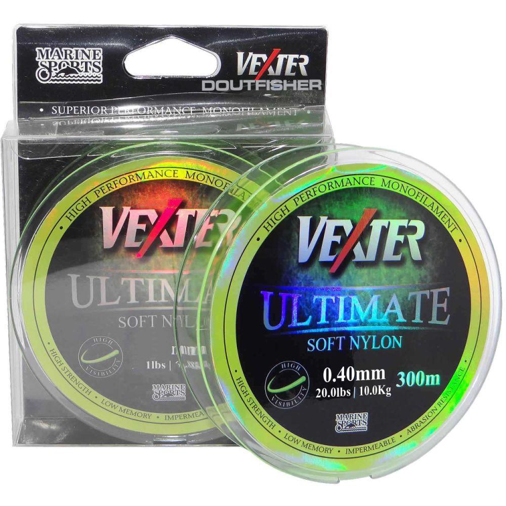 Linha Vexter Ultimate Soft 0,40mm 300m Amarela