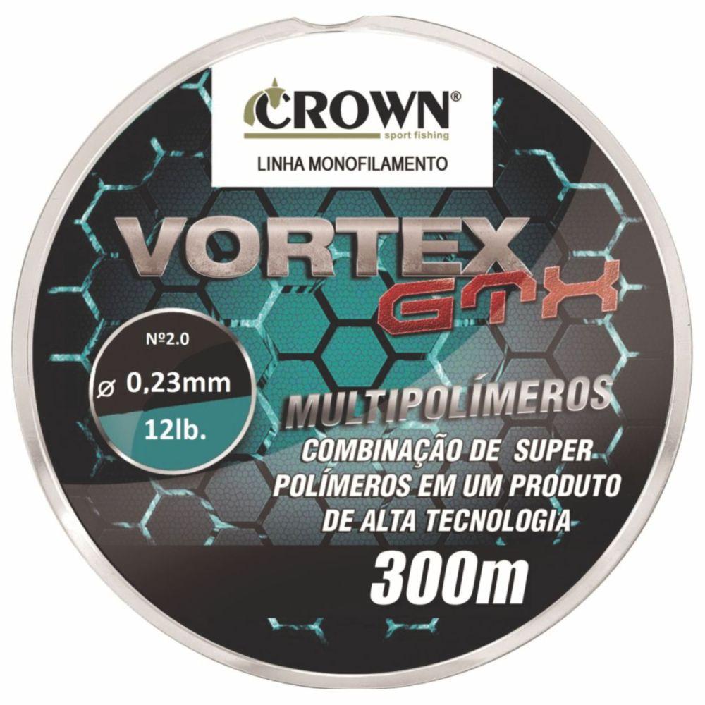 Linha Vortex GTX Crown 0,23mm - 12lb 300m