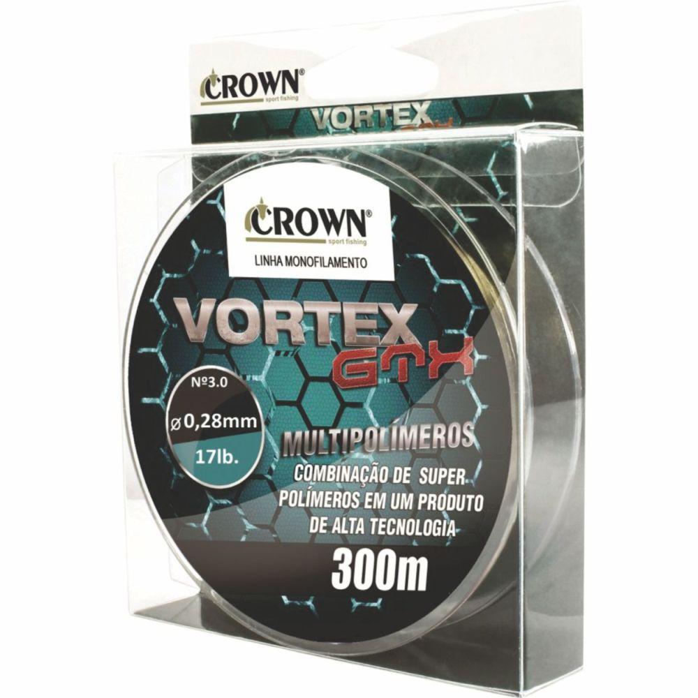 Linha Vortex Gtx Crown 0,28mm - 17lb 300m