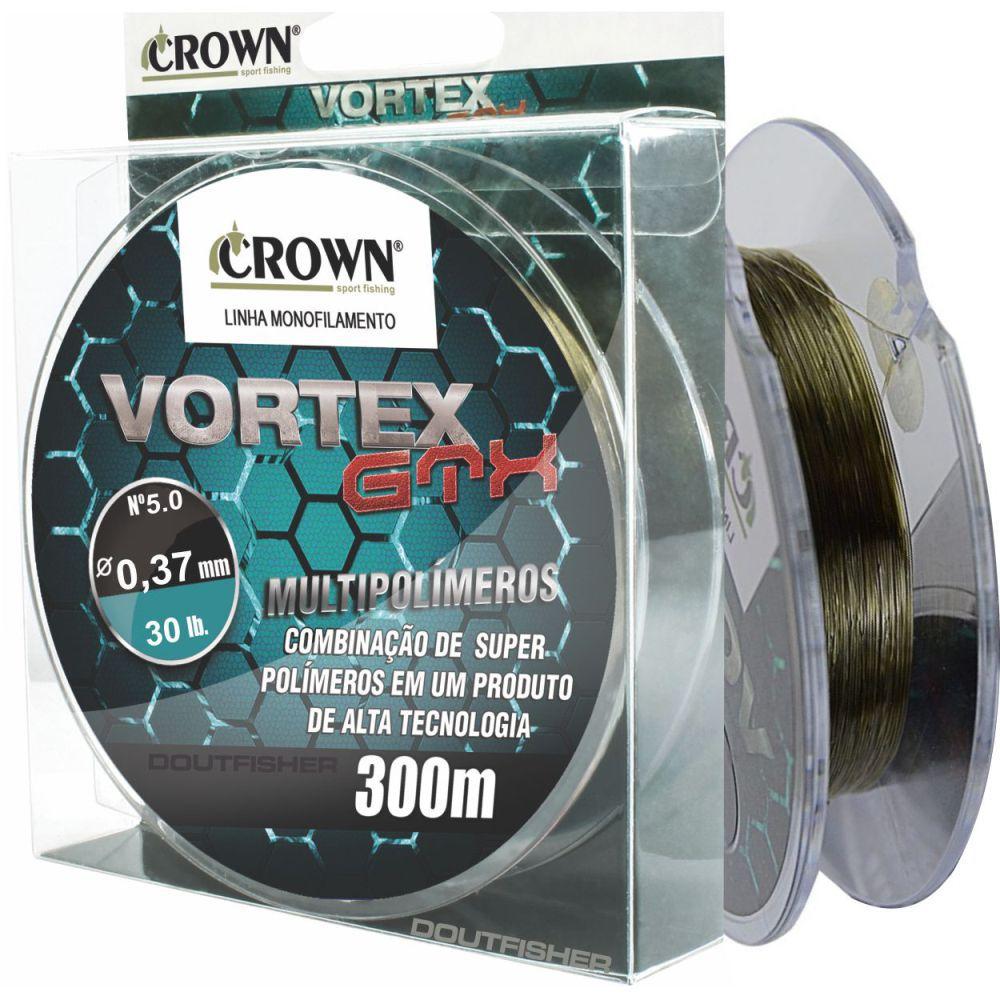 Linha Vortex Gtx Crown 0,37mm - 30lb 300m