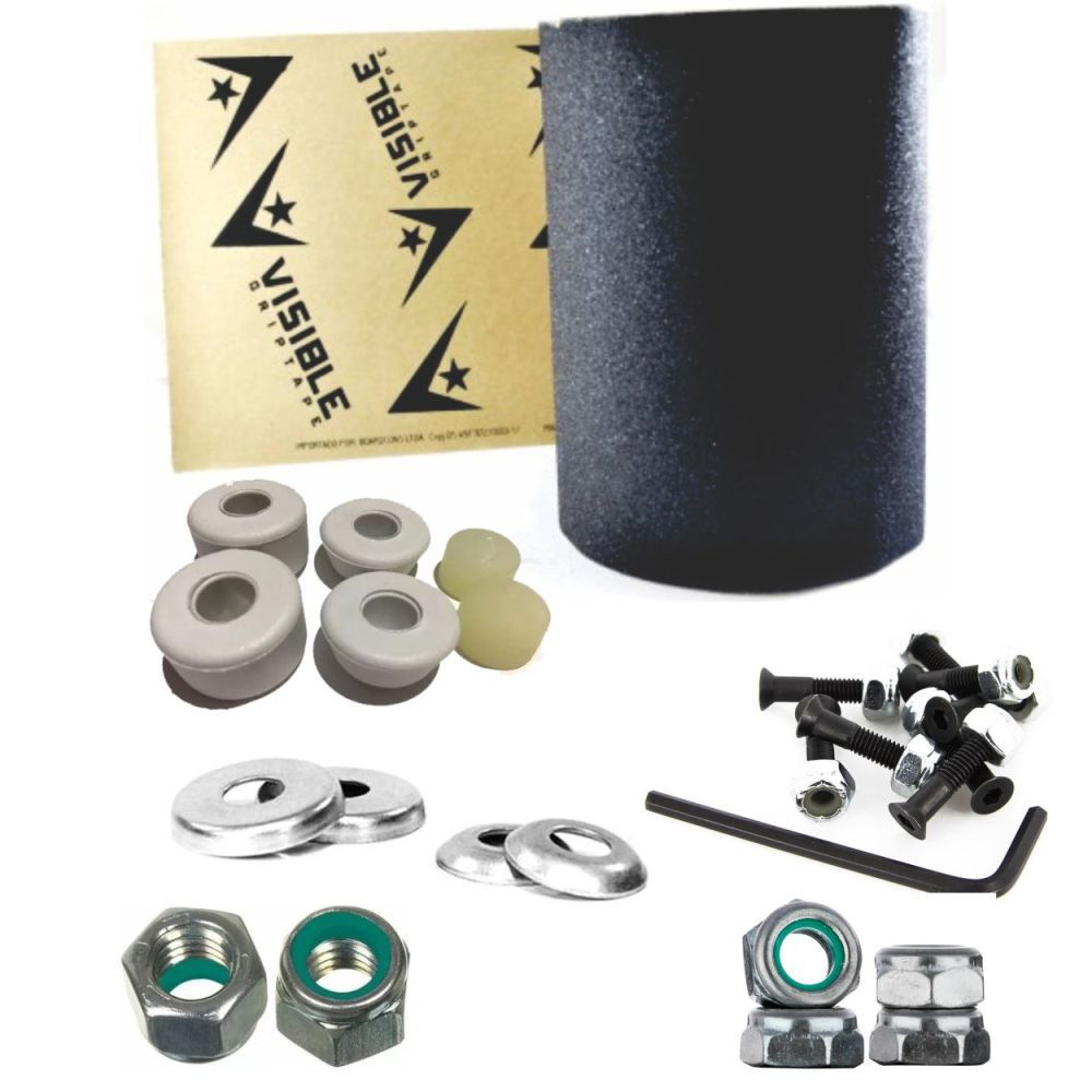 Lixa Emborrachada Visible Street + Kit de Reparo Do Truck Street
