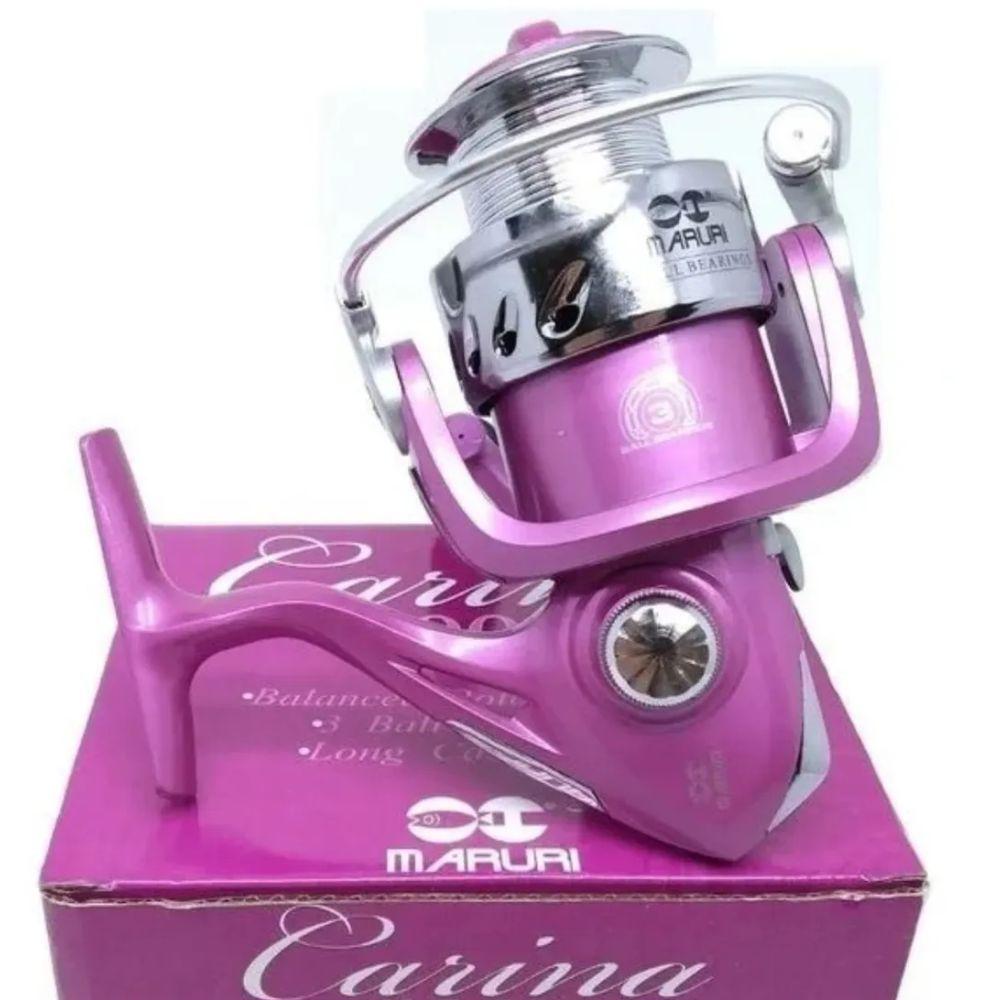 Molinete Maruri Carina 5000 Rosa