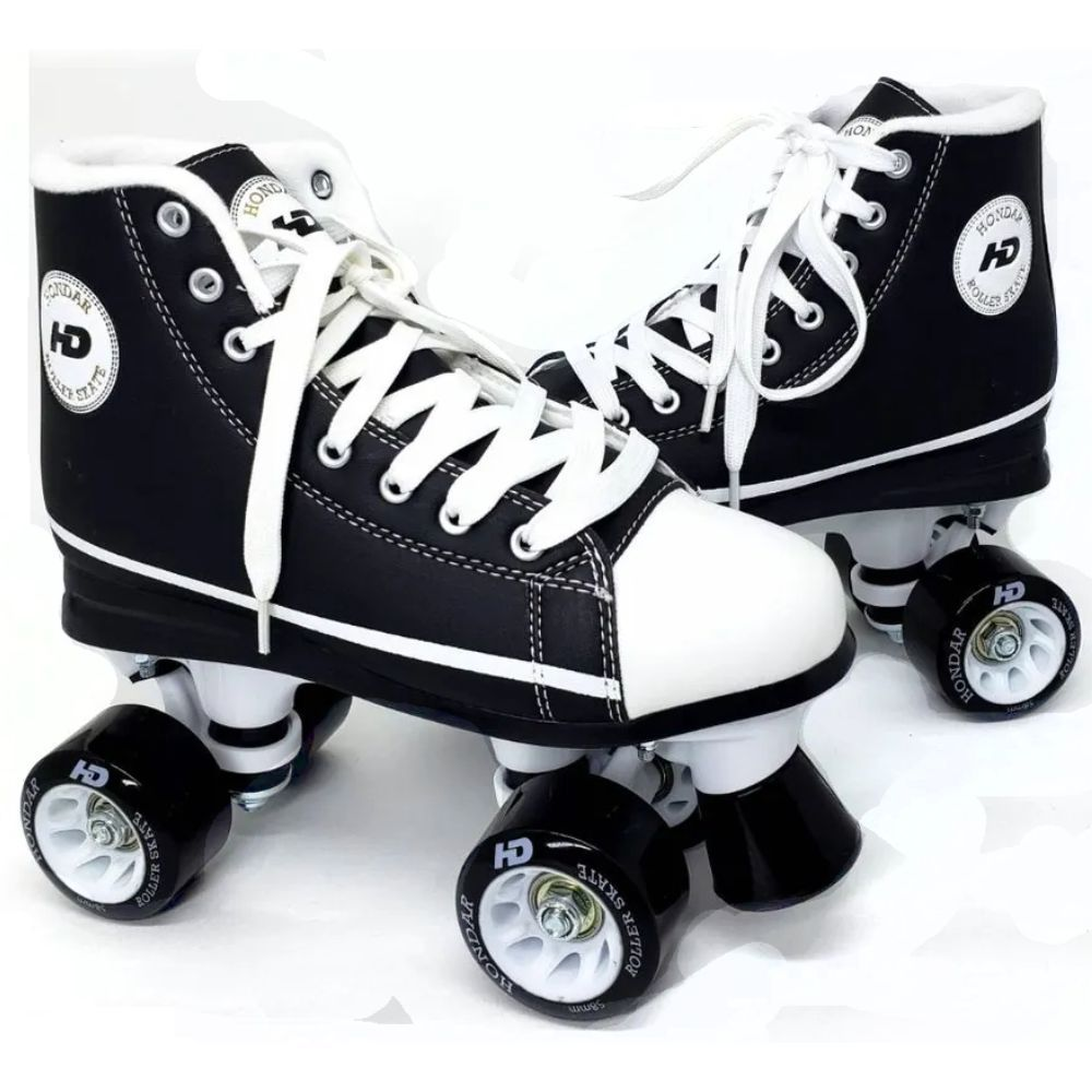 Patins HD Inline All Star Quad Preto - Hondar