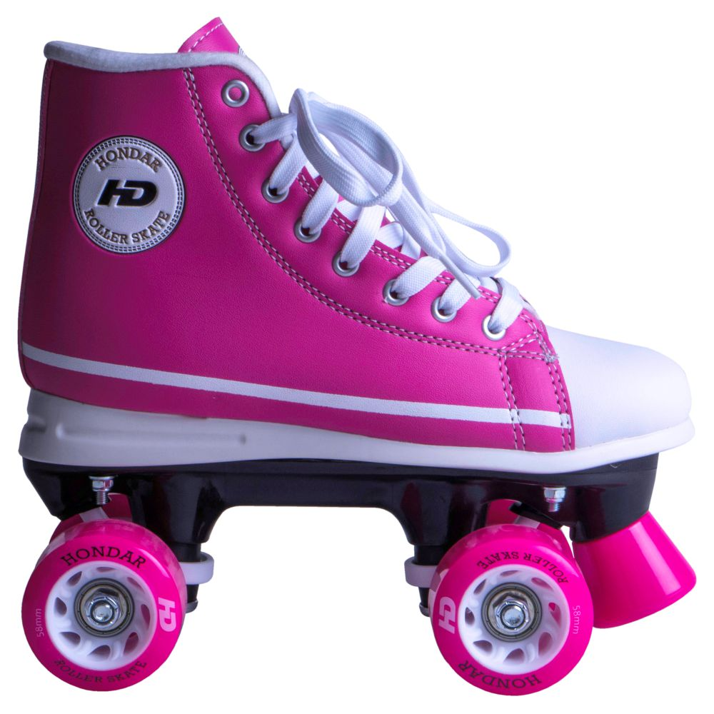 Patins HD Inline All Star Quad Rosa - Hondar