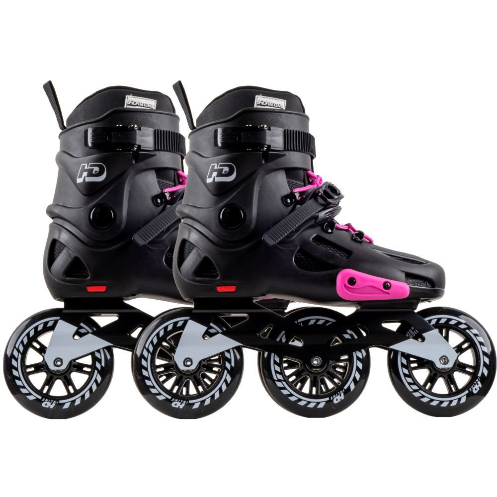 Patins HD Inline Evolution 110mm Rosa - Hondar