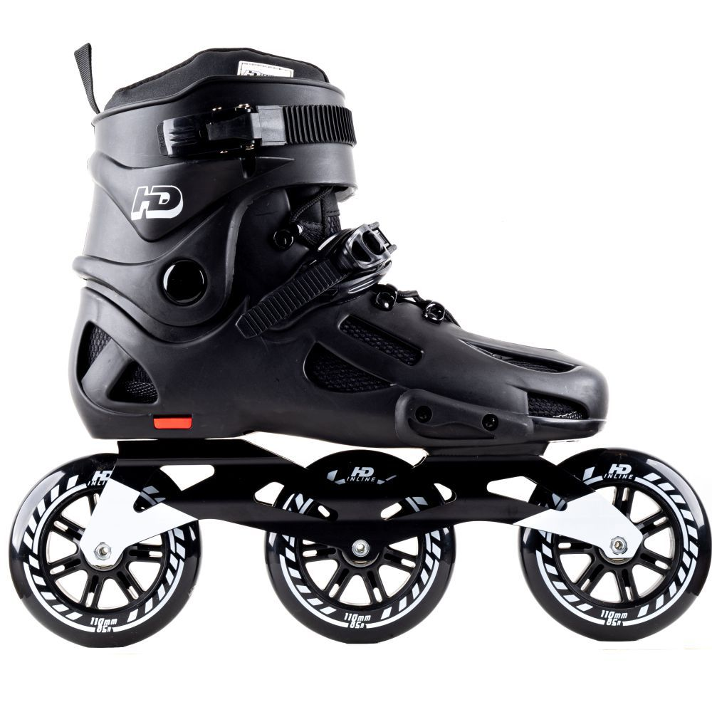 Patins HD Inline Evolution Roda 110mm Black - Hondar