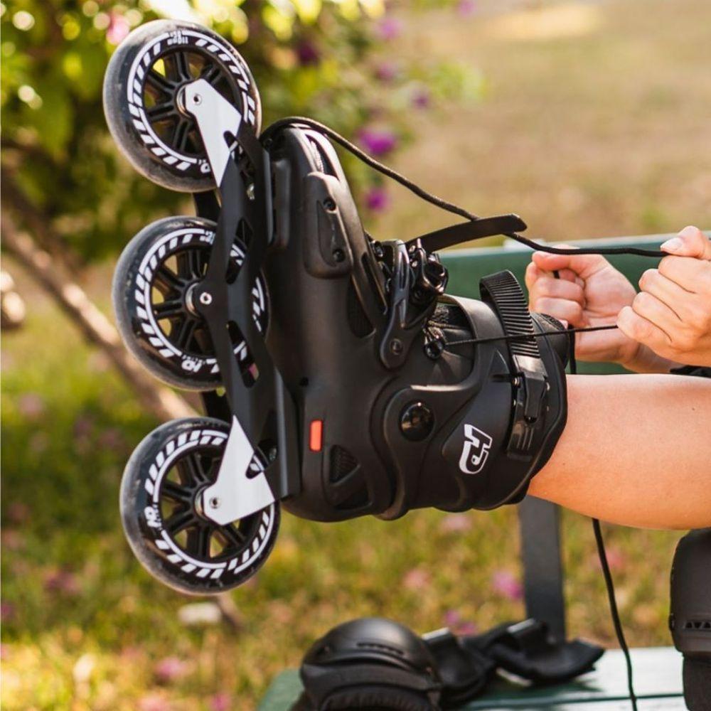 Patins HD Inline Evolution Roda 110mm Black - Hondar