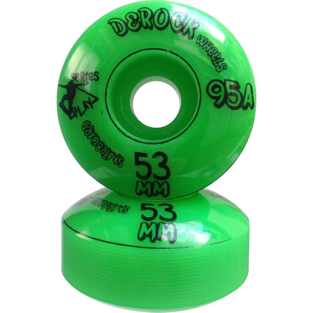 Roda De Skate Derock 53mm 95A Series Play