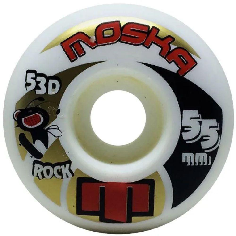 Roda Moska 55mm Rock White