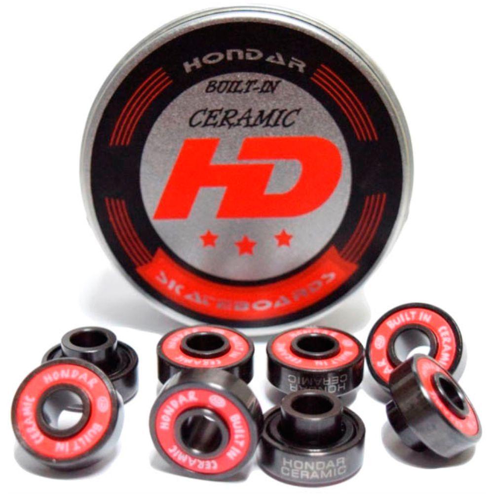 Roda Dizzy High Stakes 69mm 78A + Rolamento Hondar Built in Ceramic