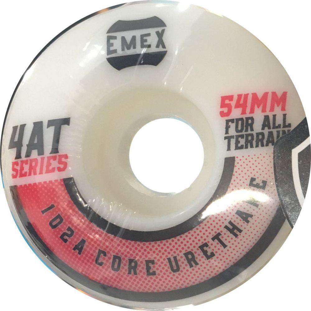 Roda Emex 54mm 102A Red Dots Importada