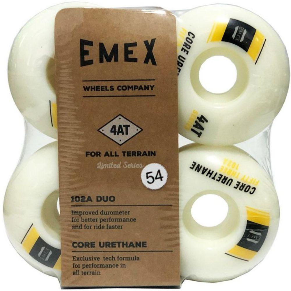 Roda Emex 54mm 102A Yellow