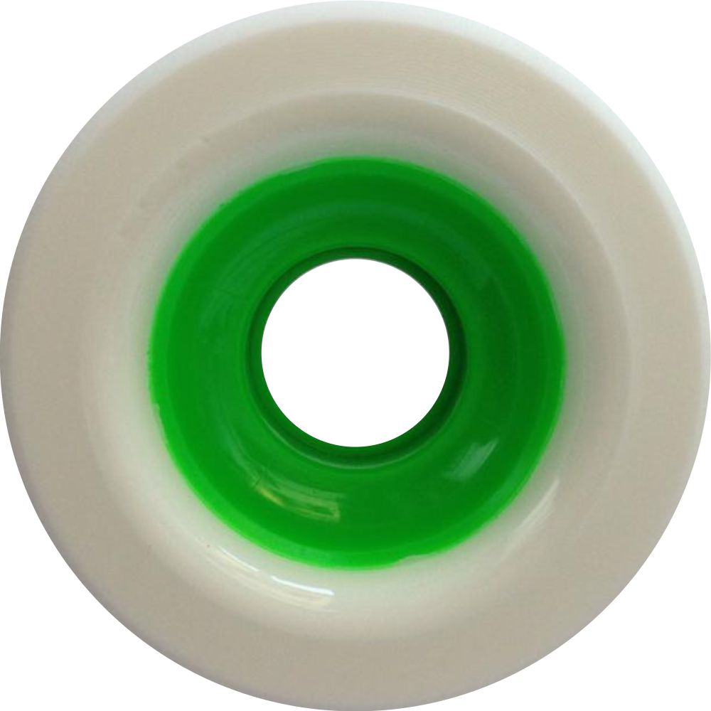 Roda Face Splash 65mm 82A Green