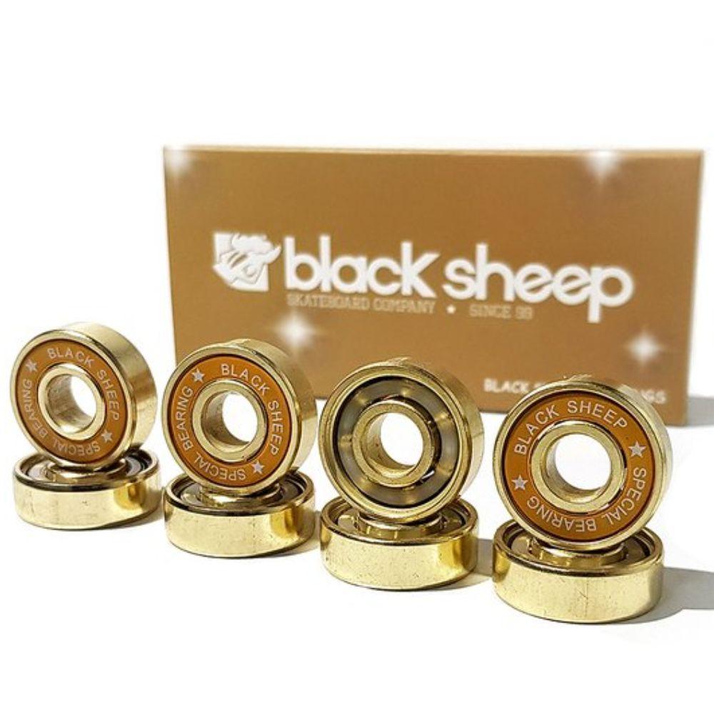 Roda Hondar Falcon 70mm 86A + Rolamento Black Sheep Gold