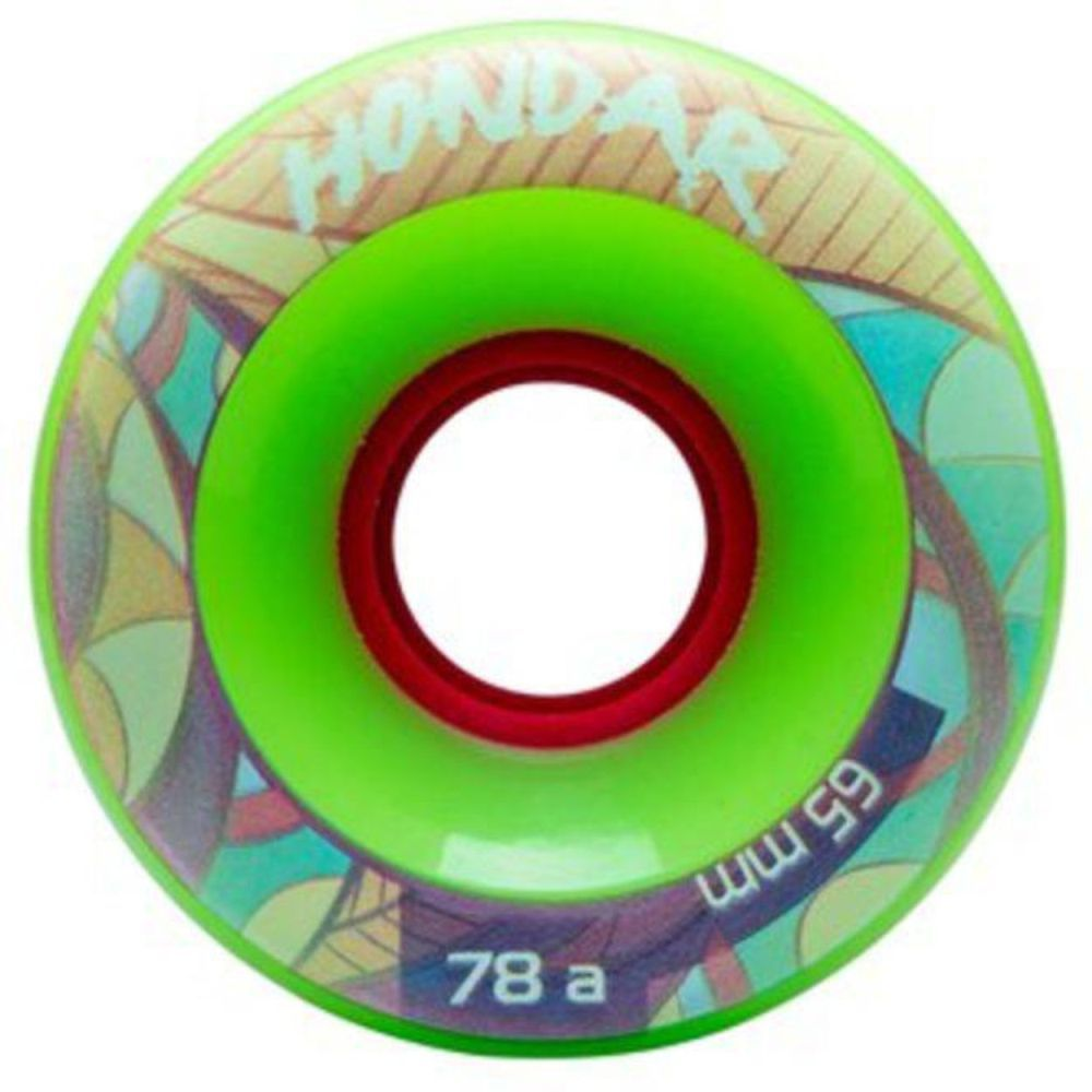 RODA HONDAR FREESTYLE 65MM 78A - VERDE