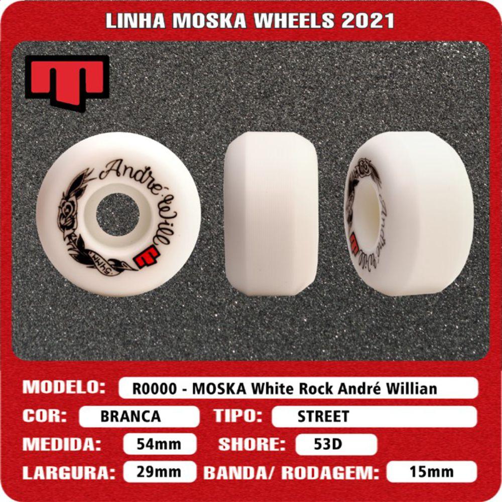 Roda Moska 54mm Pro Model André Will