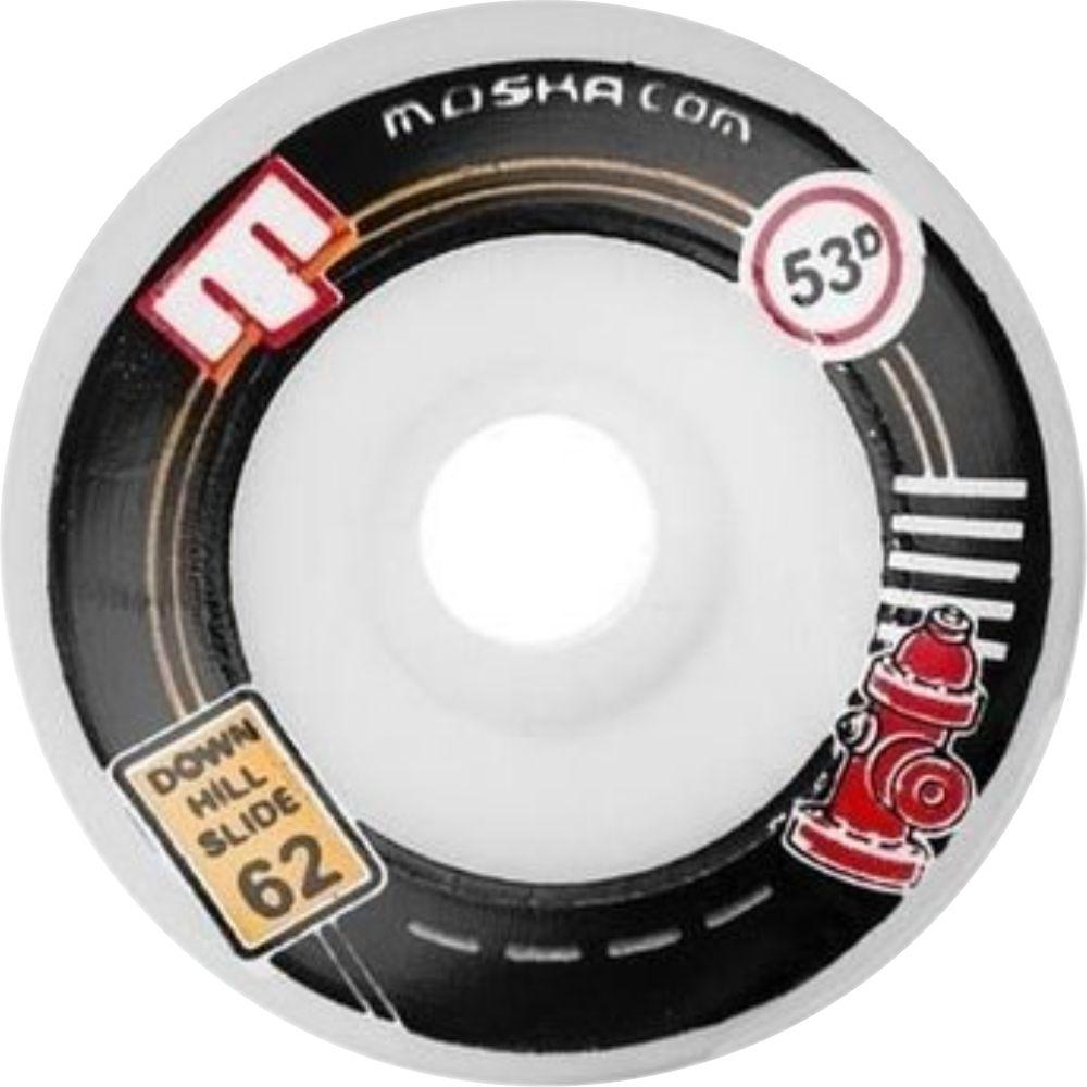 Roda Moska Downhill Slide 62 mm - Hidrante