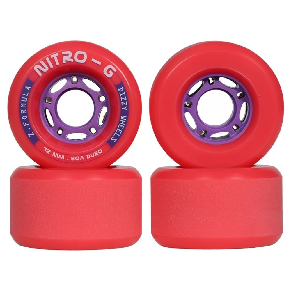 Rodas Dizzy Nitro G 72MM 80A