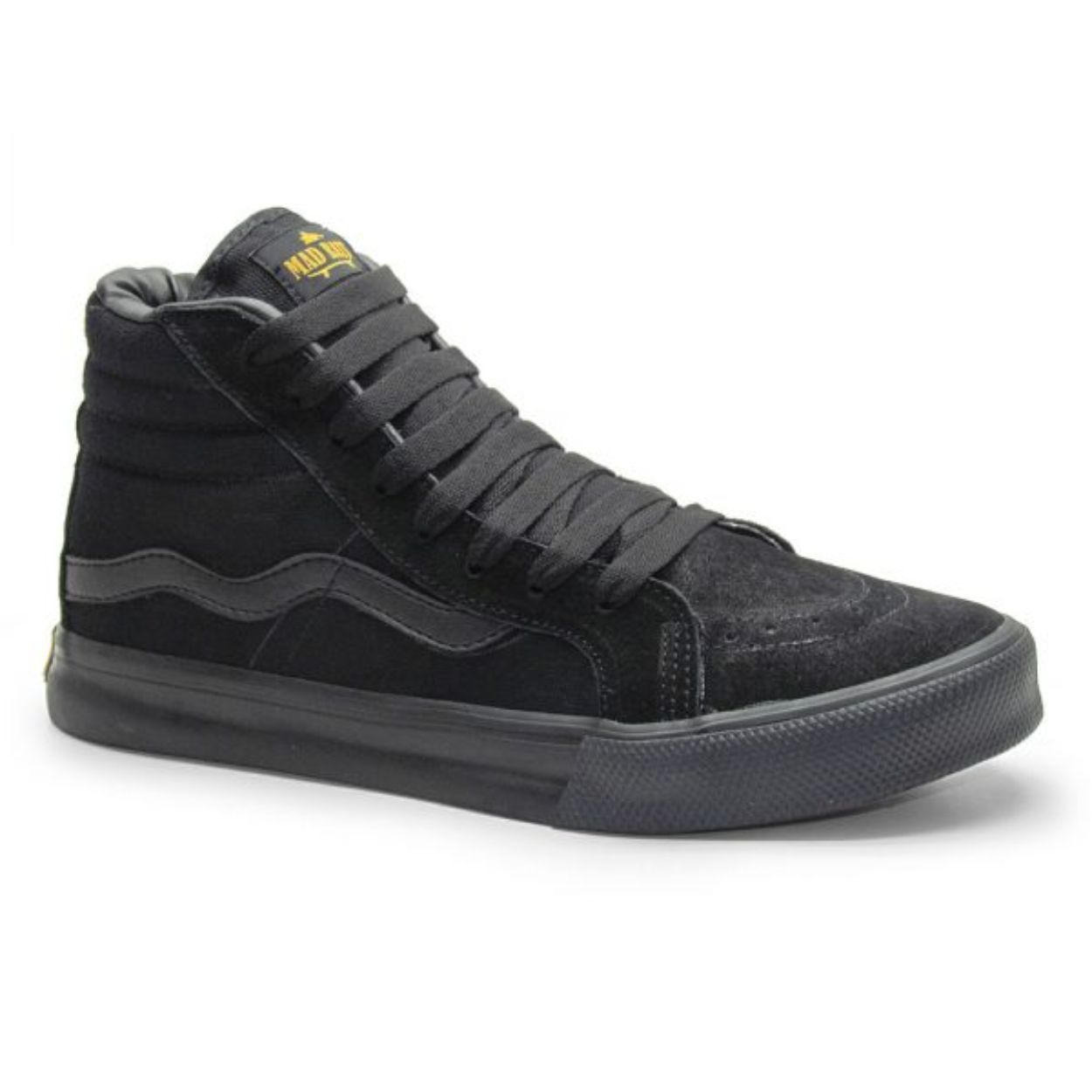 Tênis Mad Rats Hi Top Black
