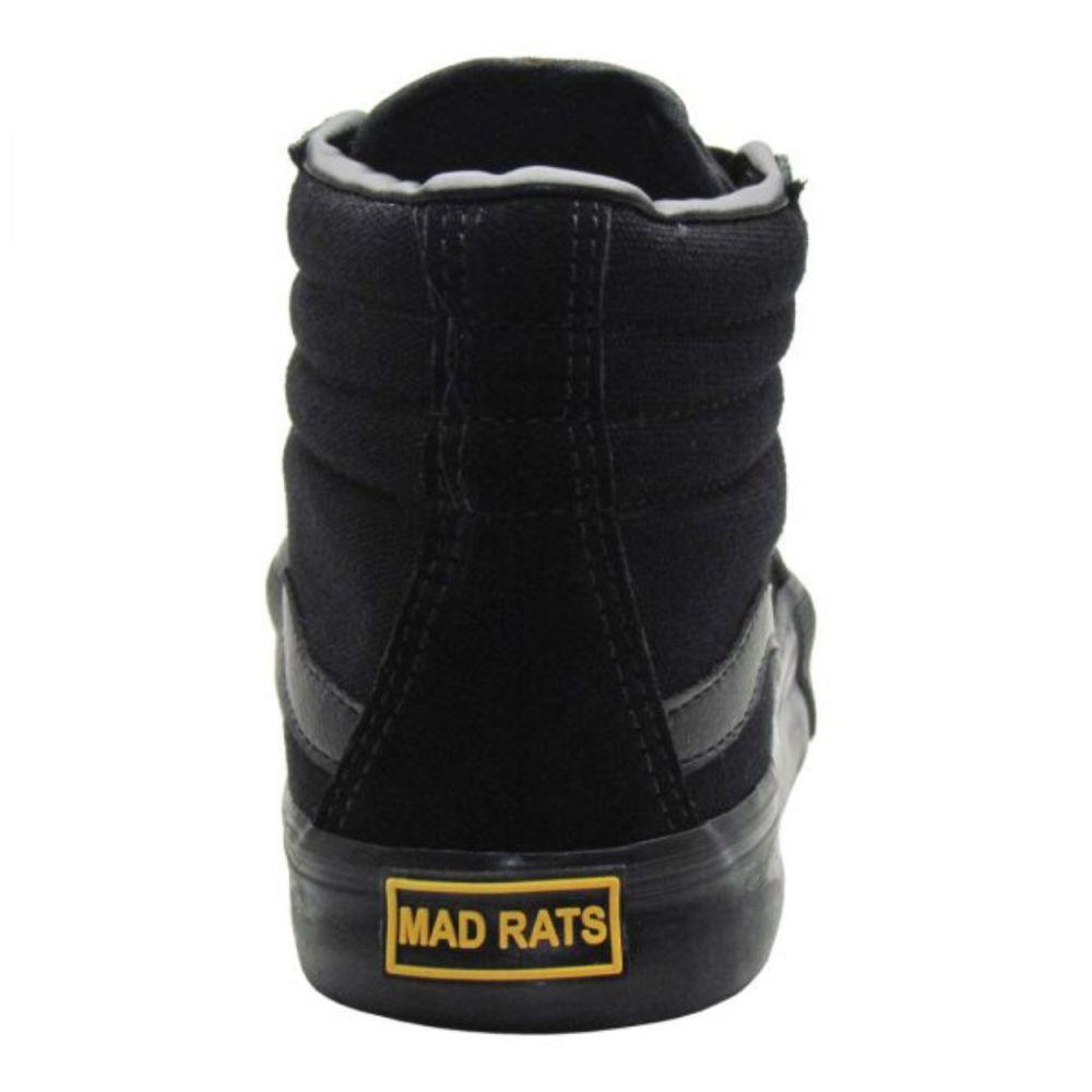 Tênis Mad Rats Hi Top Black