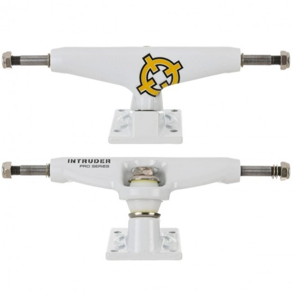 Truck Intruder 139mm Mid Pro Séries White