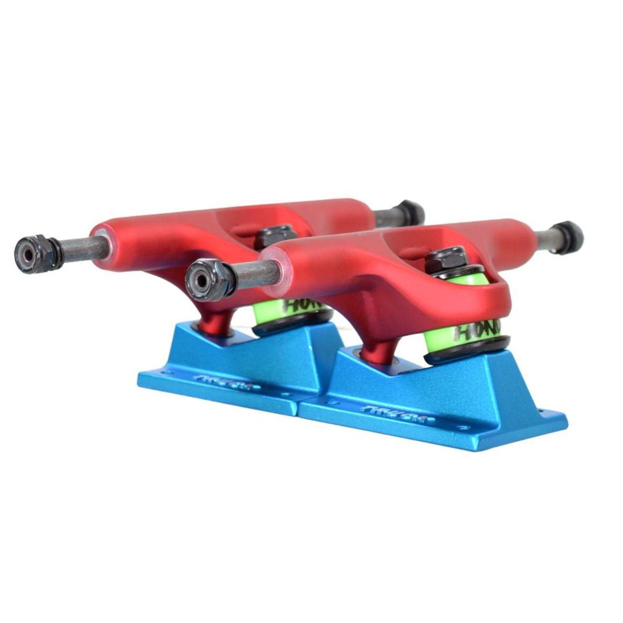 Truck Street Hondar 139mm Azul e Vermelho