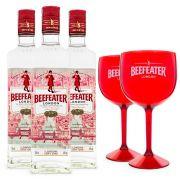 Combo 3x Beefeater Gin + 2x Taças de Acrílico Beefeater