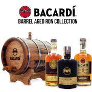 Combo Bacardi Rum - Barril de Carvalho 3L