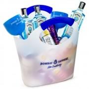 Combo Bag Bombay Sapphire - 3 Gin Bombay Sapphire + 6 Tônicas St. Pierre + 6 Pink Lemonade St. Pierre + 4 Red Bull Tropical + 4 Red Bull Açaí + 4 Taças