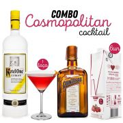 Combo Cosmopolitan Cocktail
