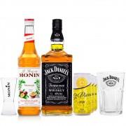 Combo Drink MaracuJack & Ginger - MONIN Maracujá + Jack Daniel's + Ginger Beer St. Pierre + Copo Jack + Dosador MONIN