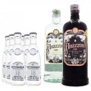 Combo Gin Amázzoni + Rio Negro + Tônicas Riverside