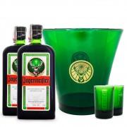Combo Jagermeister + Copos Shot + Balde Exclusivo