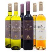 Combo Vinhos La Linda - 6 Garrafas