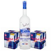 Combo Vodka Grey Goose Magnum 1,5L + 8 Energéticos Red Bull 250ml