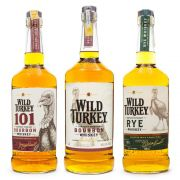 Combo Wild Turkey Whiskey - 101 - Bourbon - Rye