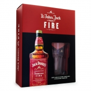 Kit Jack Daniel's Fire 1L + Copo Exclusivo