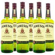 Kit Jameson Irish Whiskey 750ml - 6 Garrafas