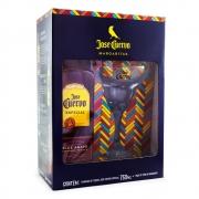 Kit Tequila Jose Cuervo Reposado 750ml + Taça de Vidro de Margarita