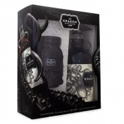 Kit The Kraken Black Spiced Rum 750ml + Pote/Copo Exclusivo