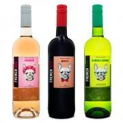 Kit Vinhos French Dog