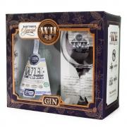 Kit Weber Haus Dry Gin 48 Orgânico + Taça de Vidro