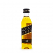 Miniatura Johnnie Walker Black Label Blended Scotch Whisky 50ml