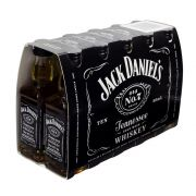 Pack Miniatura Whiskey Jack Daniel's 50ml - 10 Unidades