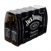Pack Miniatura Whiskey Jack Daniel's 50ml - 10 Unidades
